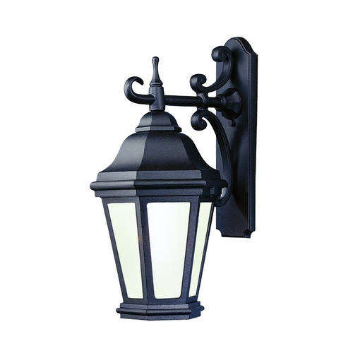 Troy Lighting Outdoor Wall Light with Clear Glass in Antique Bronze Finish BCD6891ABZ