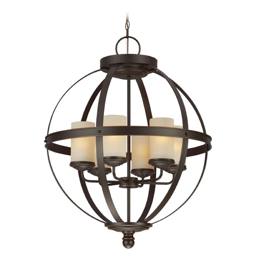 Sea Gull Lighting Sea Gull Lighting Sfera Autumn Bronze Chandelier 3190406-715