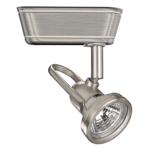 WAC Lighting WAC Lighting Brushed Nickel Low Voltage Track Light For J-Track JHT-826L-BN