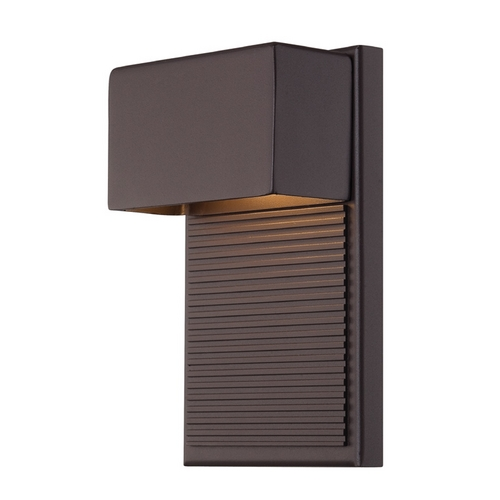Modern Forms by WAC Lighting Modern Forms Hiline Bronze LED Outdoor Wall Light WS-W2308-BZ
