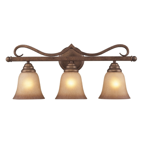 Cornerstone Lighting Cornerstone Lighting Lawrenceville Mocha Bathroom Light 1803BB/12