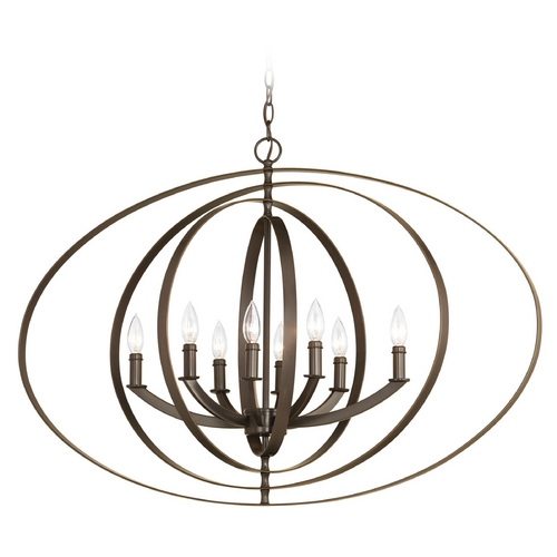 Progress Lighting Progress Lighting Equinox Antique Bronze Pendant Light P3791-20