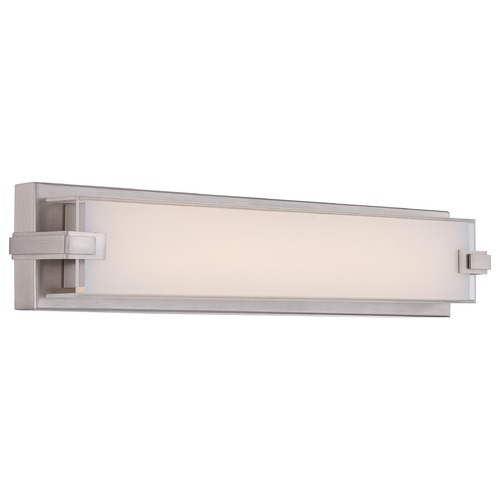 Quoizel Lighting Quoizel Platinum Dash Brushed Nickel LED Bathroom Light PCDH8522BN