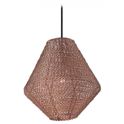 Maxim Lighting Maxim Lighting Twisp Copper Pendant Light 12197CP