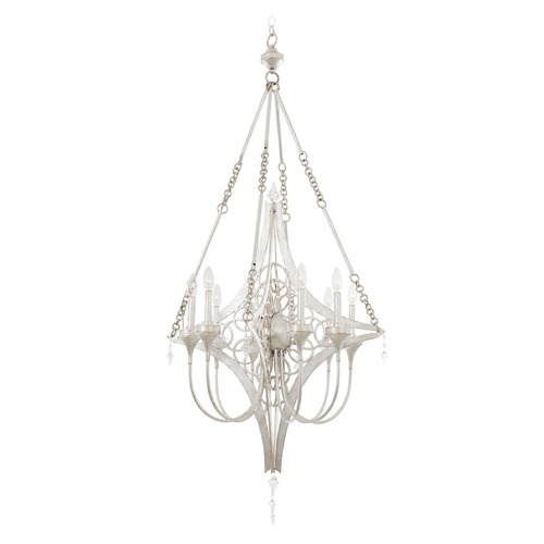 Kalco Lighting Kalco Loveland Gold Silver Leaf Chandelier 501772GSL