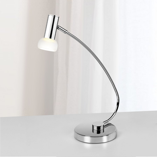 Eglo Lighting Eglo Glossy Chrome LED Desk Lamp 90882A