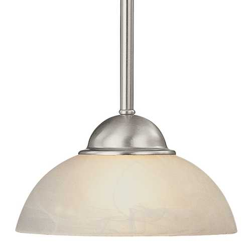 Dolan Designs Lighting Mini-Pendant with Alabaster Glass 200-09