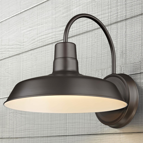 Design Classics Lighting Barn Light Bronze 12-Inch Wide by Design Classics Lighting 663-29