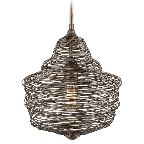 Troy Lighting Troy Lighting Shelter Revolution Bronze Pendant Light F4773