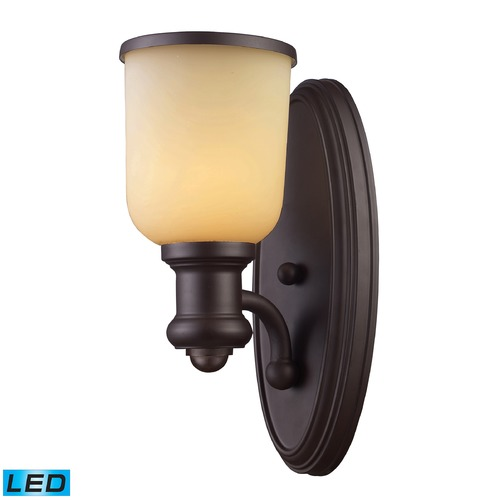 Elk Lighting Elk Lighting Brooksdale Oiled Bronze LED Sconce 66170-1-LED