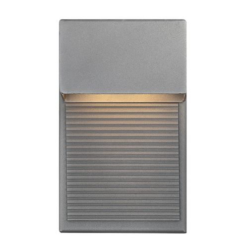 Modern Forms by WAC Lighting Modern Forms Hiline Graphite LED Outdoor Wall Light WS-W2308-GH