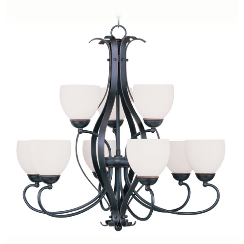Livex Lighting Livex Lighting Brookside Olde Bronze Chandelier 4769-67