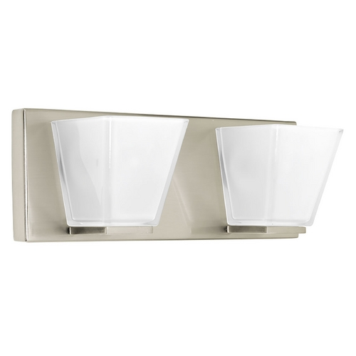 Progress Lighting Progress Lighting Streaming Brushed Nickel Bathroom Light P2124-09