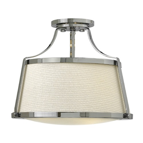 Hinkley Lighting Hinkley Lighting Charlotte Chrome Semi-Flushmount Light 3521CM