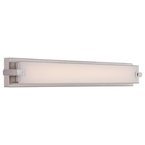 Quoizel Lighting Quoizel Platinum Dash Brushed Nickel LED Bathroom Light PCDH8530BN