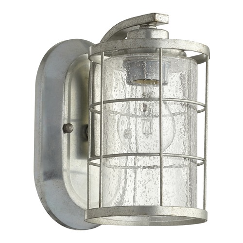 Quorum Lighting Quorum Lighting Ellis Tumbled Steel Sconce 5464-1-7