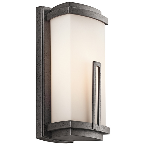 Kichler Lighting Kichler Outdoor Wall Light in Iron Finish 49110AVI