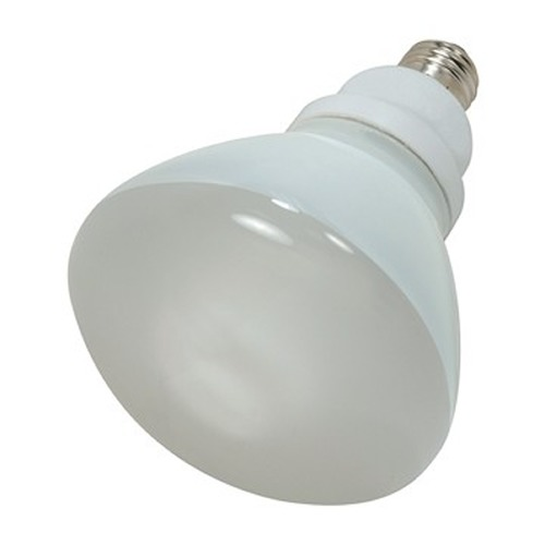Satco Lighting 23-Watt R40 Cool White Reflector Compact Fluorescent Light Bulb S7242