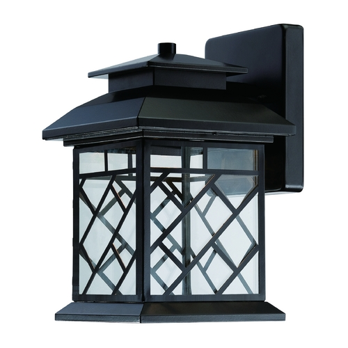 Designers Fountain Lighting LED Outdoor Wall Light with Clear Glass in Oil Rubbed Bronze Finish LED22331-ORB