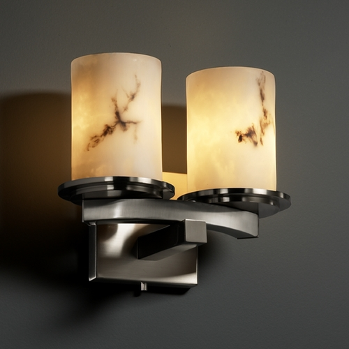 Justice Design Group Justice Design Group Lumenaria Collection Sconce FAL-8775-10-NCKL