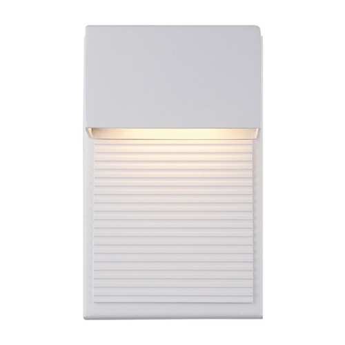 Modern Forms by WAC Lighting Modern Forms Hiline White LED Outdoor Wall Light WS-W2308-WT