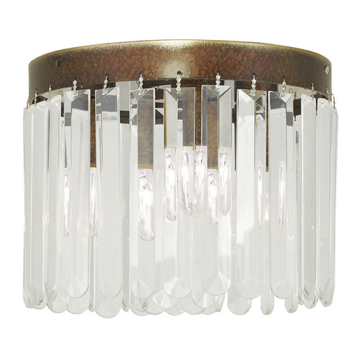 Livex Lighting Livex Lighting Ashton Hand Painted Palacial Bronze Flushmount Light 50552-64
