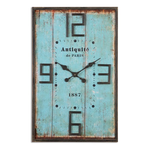 Uttermost Lighting Uttermost Antiquite Distressed Wall Clock 06425
