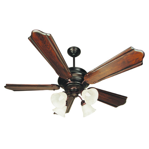 Craftmade Lighting Craftmade Lighting Townsend Oiled Bronze Ceiling Fan with Light K10773