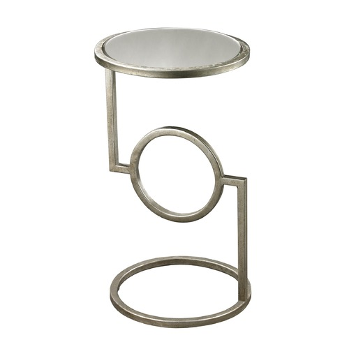 Dimond Home Mirrored Top Hurricane Side Table 114-107