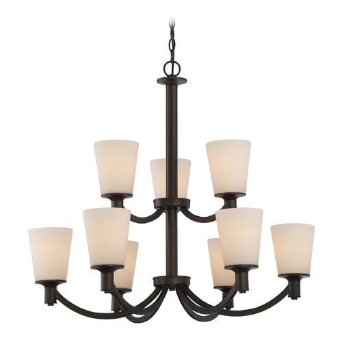 Nuvo Lighting Nuvo Lighting Laguna Aged Bronze Chandelier 60/5929