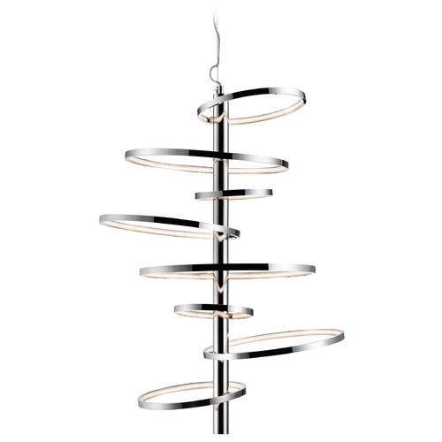 Elan Lighting Elan Lighting Sirkus Chrome LED Pendant Light 83665