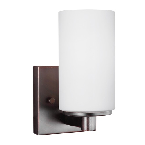 Sea Gull Lighting Sea Gull Lighting Hettinger Burnt Sienna Sconce 4139101-710