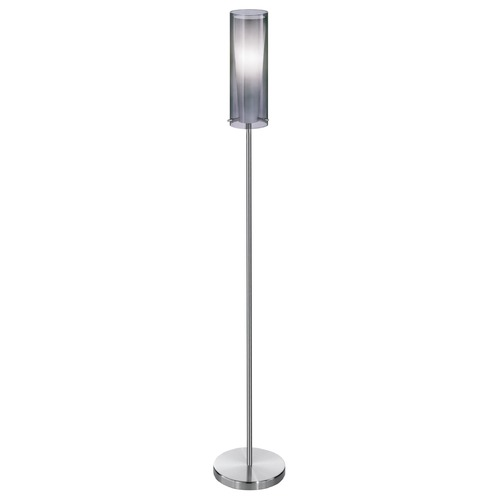 Eglo Lighting Eglo Pinto Nero Matte Nickel Floor Lamp with Cylindrical Shade 90309A