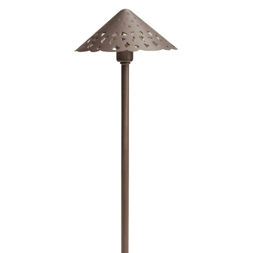 Kichler Lighting Kichler LED Path Light in Bronzed Brass Finish 15871BBR