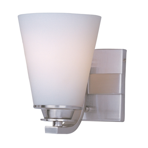 Maxim Lighting Maxim Lighting Conical Satin Nickel Sconce 9011SWSN
