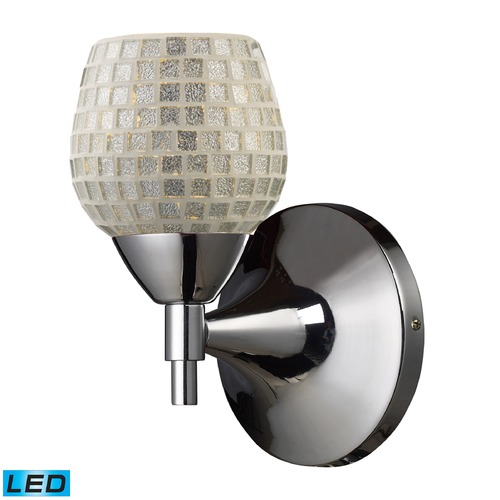 Elk Lighting Elk Lighting Celina Polished Chrome LED Sconce 10150/1PC-SLV-LED