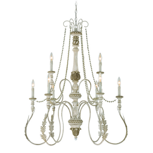 Craftmade Lighting Craftmade Zoe Antique Linen Chandelier 27329-ATL