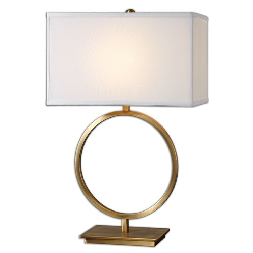 Uttermost Lighting Uttermost Duara Circle Table Lamp 26559-1