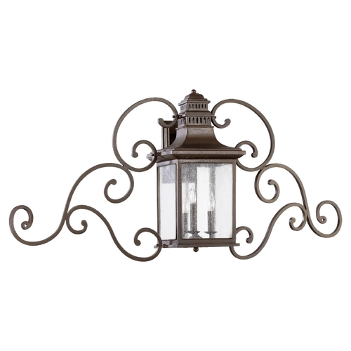 Quorum Lighting Quorum Lighting Magnolia Oiled Bronze Outdoor Wall Light 7044-3-86
