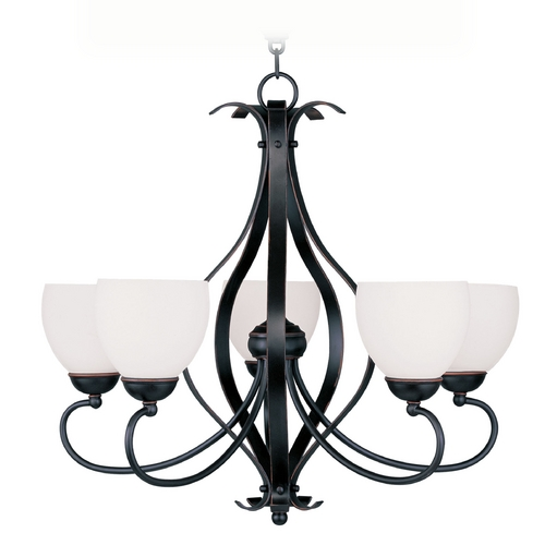 Livex Lighting Livex Lighting Brookside Olde Bronze Chandelier 4765-67