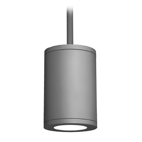 WAC Lighting 6-Inch Graphite LED Tube Architectural Pendant 2700K 1875LM DS-PD06-S927-GH