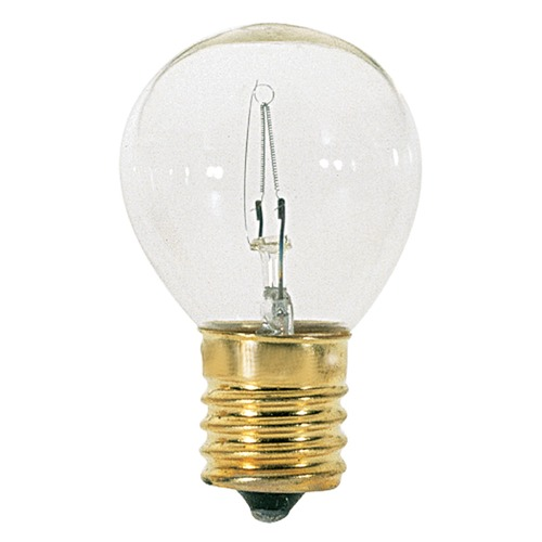Satco Lighting Incandescent S11 Light Bulb Intermediate Base 2700K 120V by Satco S3718