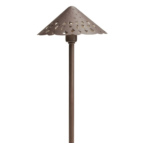 Kichler Lighting Kichler Path Light in Bronzed Brass Finish 15471BBR