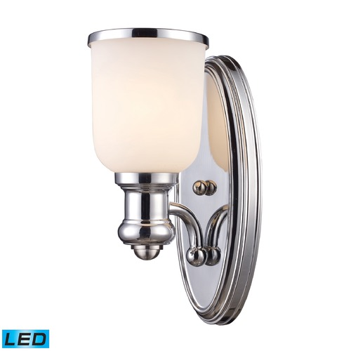 Elk Lighting Elk Lighting Brooksdale Polished Chrome LED Sconce 66150-1-LED