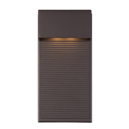 Modern Forms by WAC Lighting Modern Forms Hiline Bronze LED Outdoor Wall Light WS-W2312-BZ