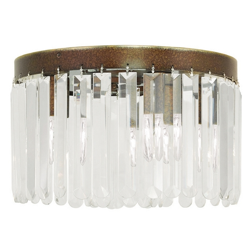 Livex Lighting Livex Lighting Ashton Hand Painted Palacial Bronze Flushmount Light 50553-64