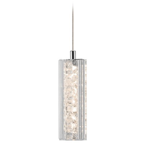 Elan Lighting Elan Lighting Neruda Chrome LED Mini-Pendant Light 83420