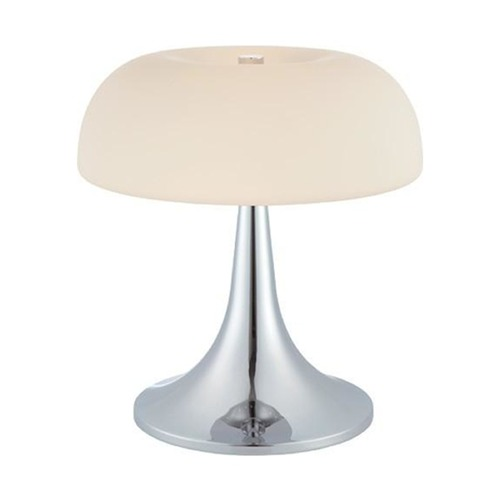 Lite Source Lighting Lite Source Lighting Greta Chrome Table Lamp with Dome Shade LS-21656C/FRO