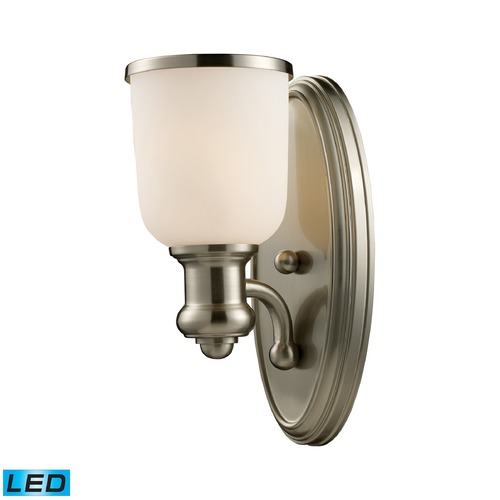 Elk Lighting Elk Lighting Brooksdale Satin Nickel LED Sconce 66160-1-LED