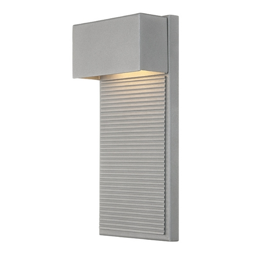 Modern Forms by WAC Lighting Modern Forms Hiline Graphite LED Outdoor Wall Light WS-W2312-GH